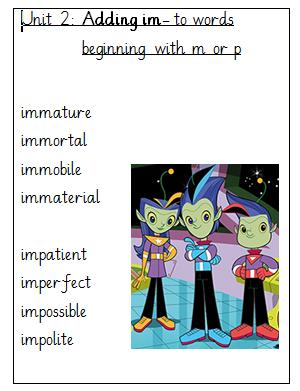 spellings-unit-2