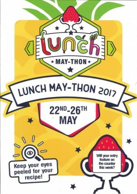 Lunch MAY_THON 2017 Competition