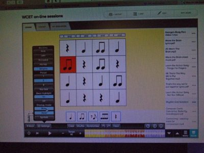 Using ict in music